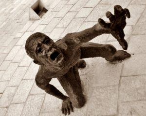 emotional statue
