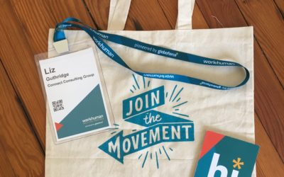 How to share in my memorable WorkHuman moments