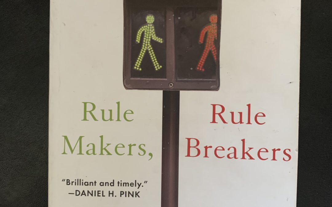Want to see a culture clash? Put rule makers with rule breakers